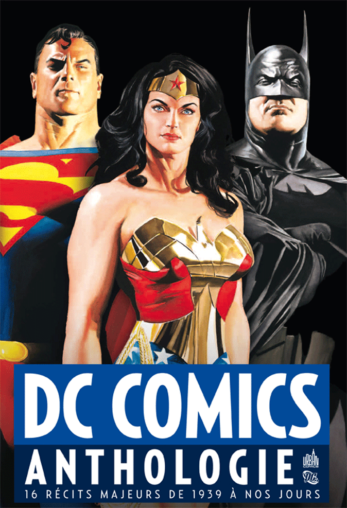 DC Comics Anthologie : La Bible DC dans culte dcomicsanthologie