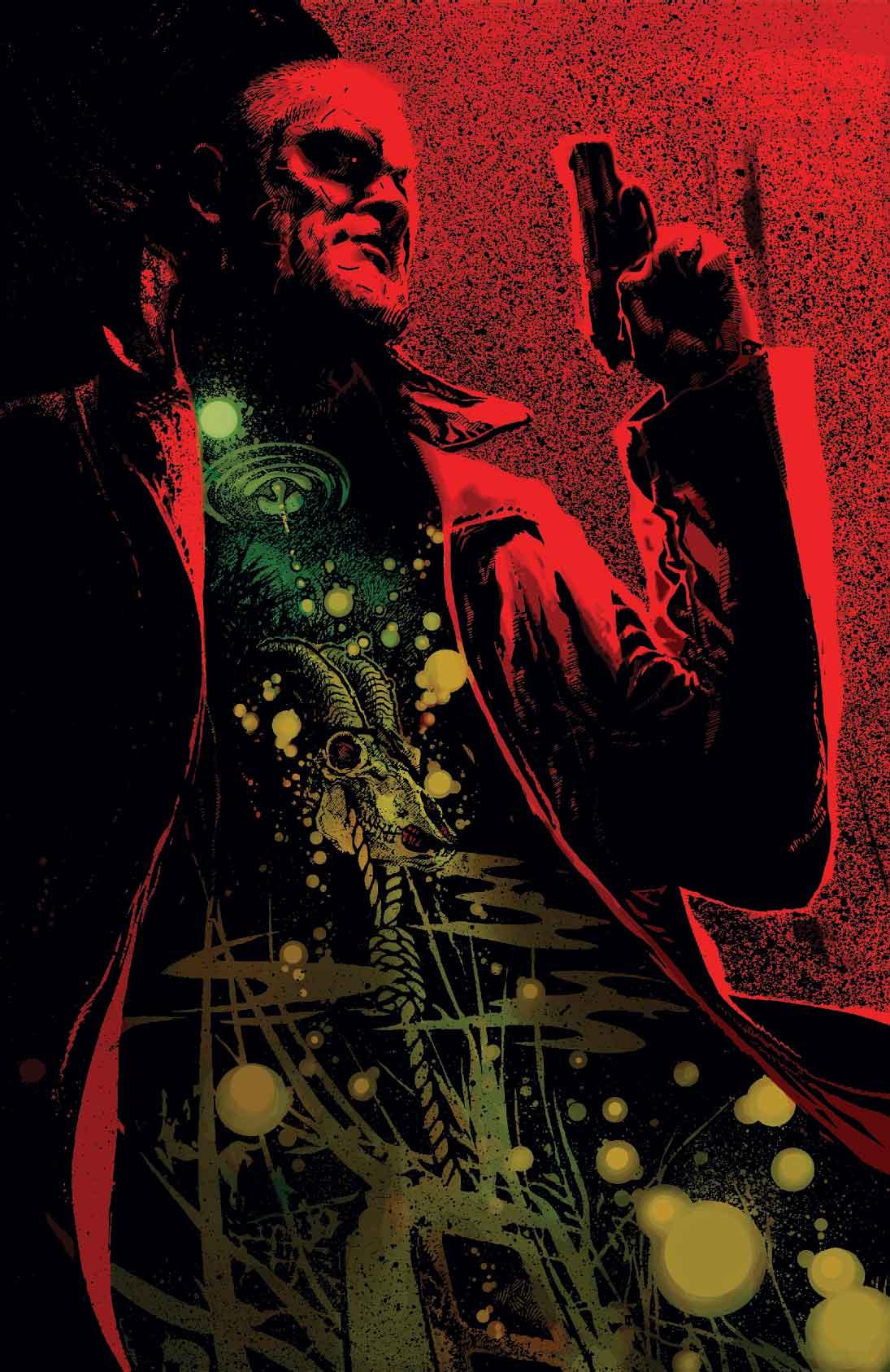 ILLUSTRATION DE COUVERTURE DE MEN OF WRATH #3, PAR TONY HARRIS