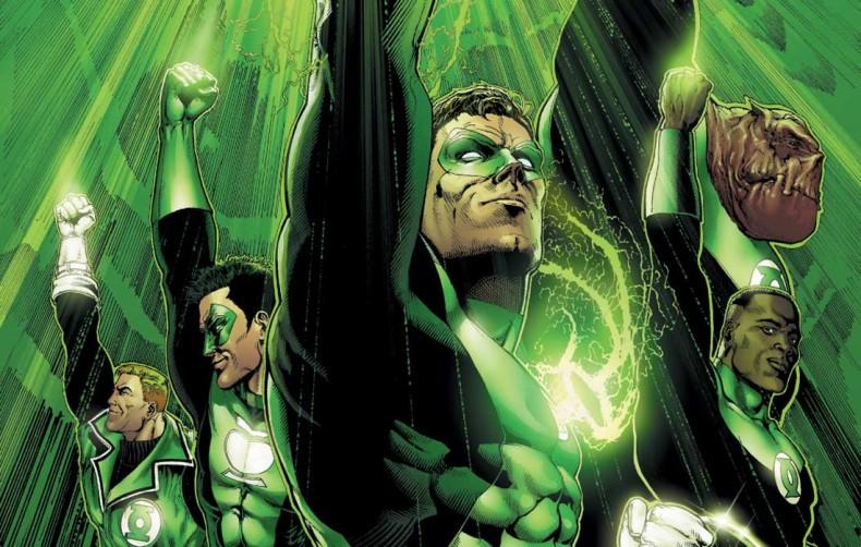 Il existe un crossover Green Lantern vs Aliens