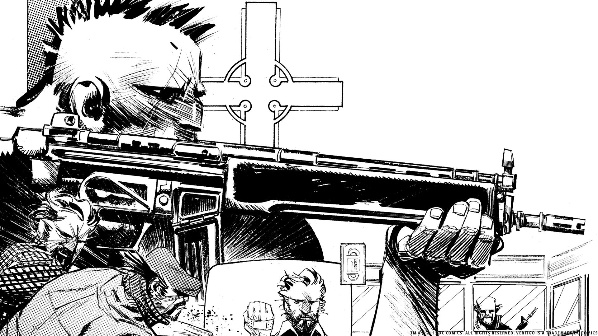 Punk Rock Jesus Les Wallpapers Urban Comics
