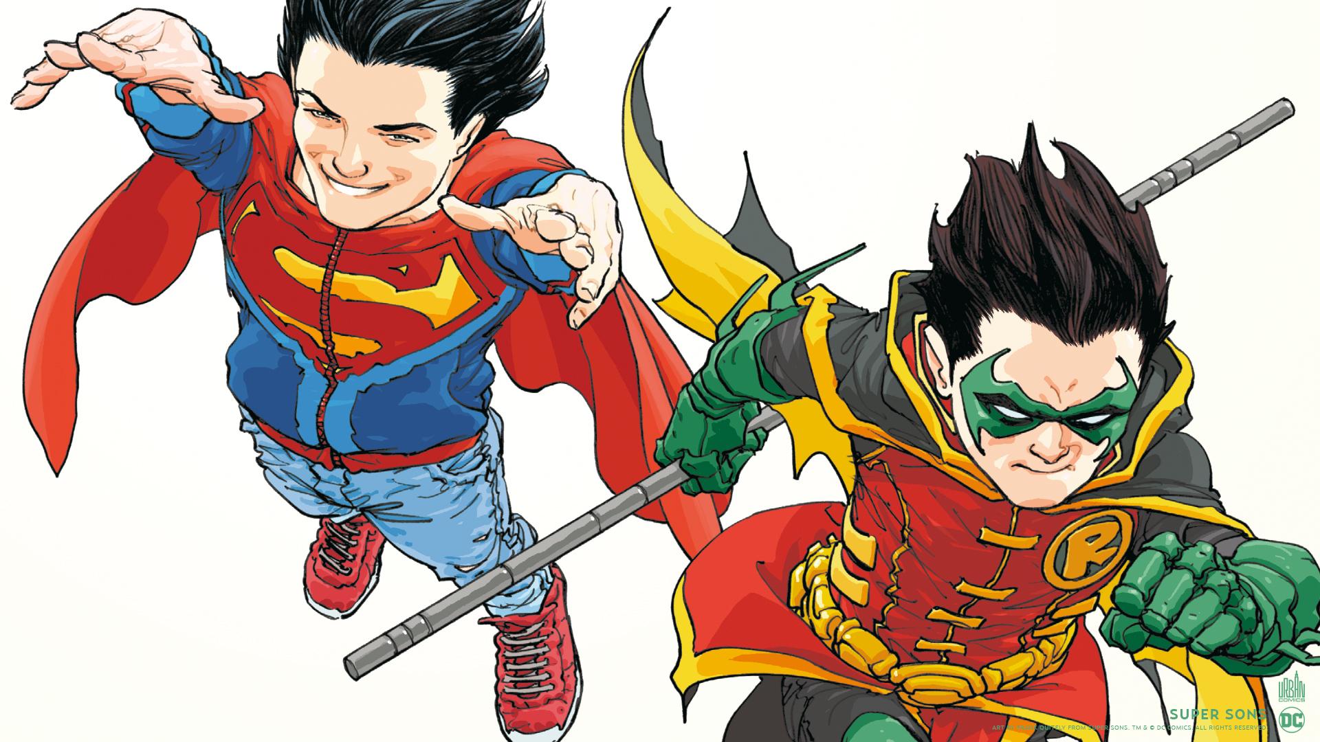 Super Sons Les Fonds D Ecran Urban Comics