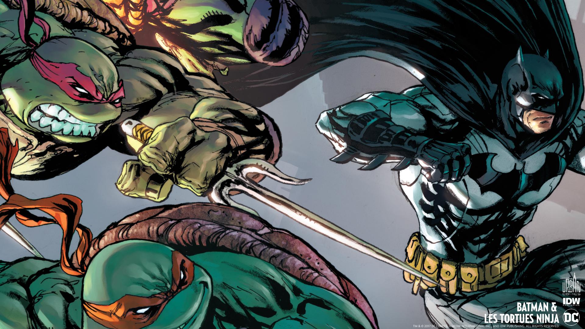 Wallpapers : Batman & les Tortues Ninja