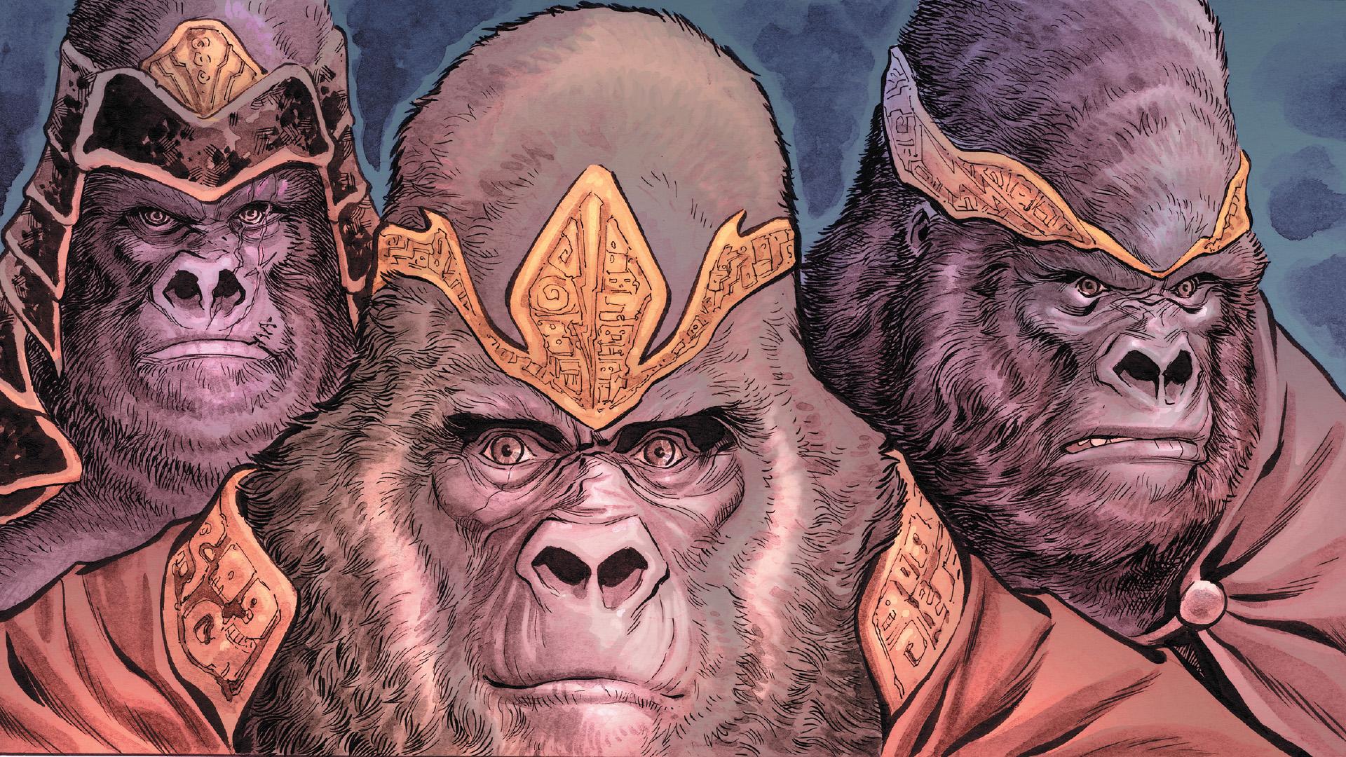 Quelle est la particularité de Gorilla Grodd, un des ennemis jurés de Flash ?