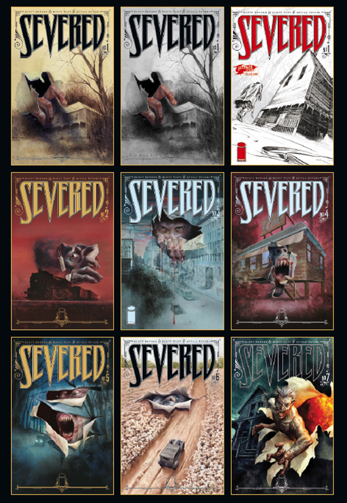 couvertures severed