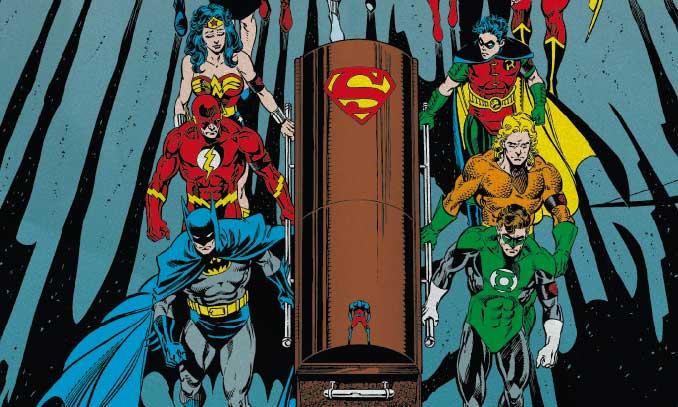 mort de superman