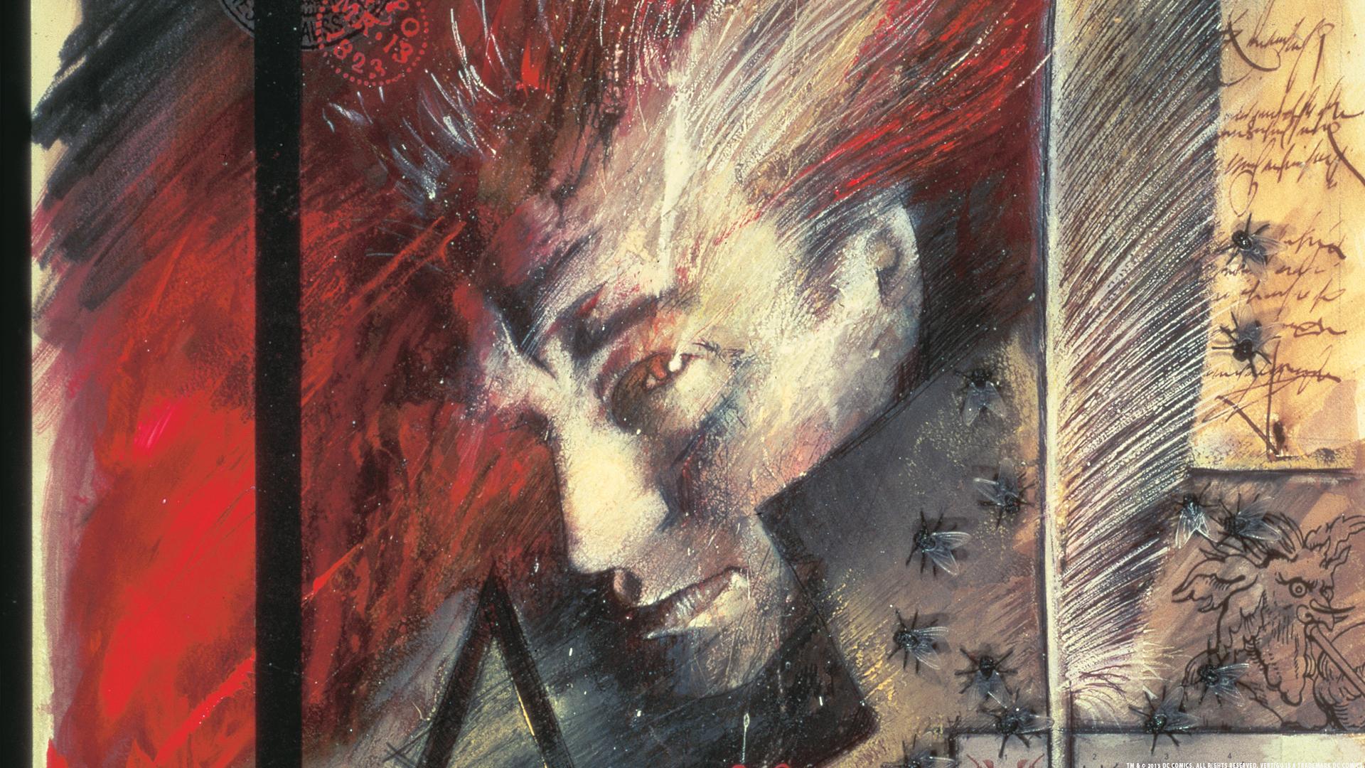 John Constantine est le personnage principal de la série :