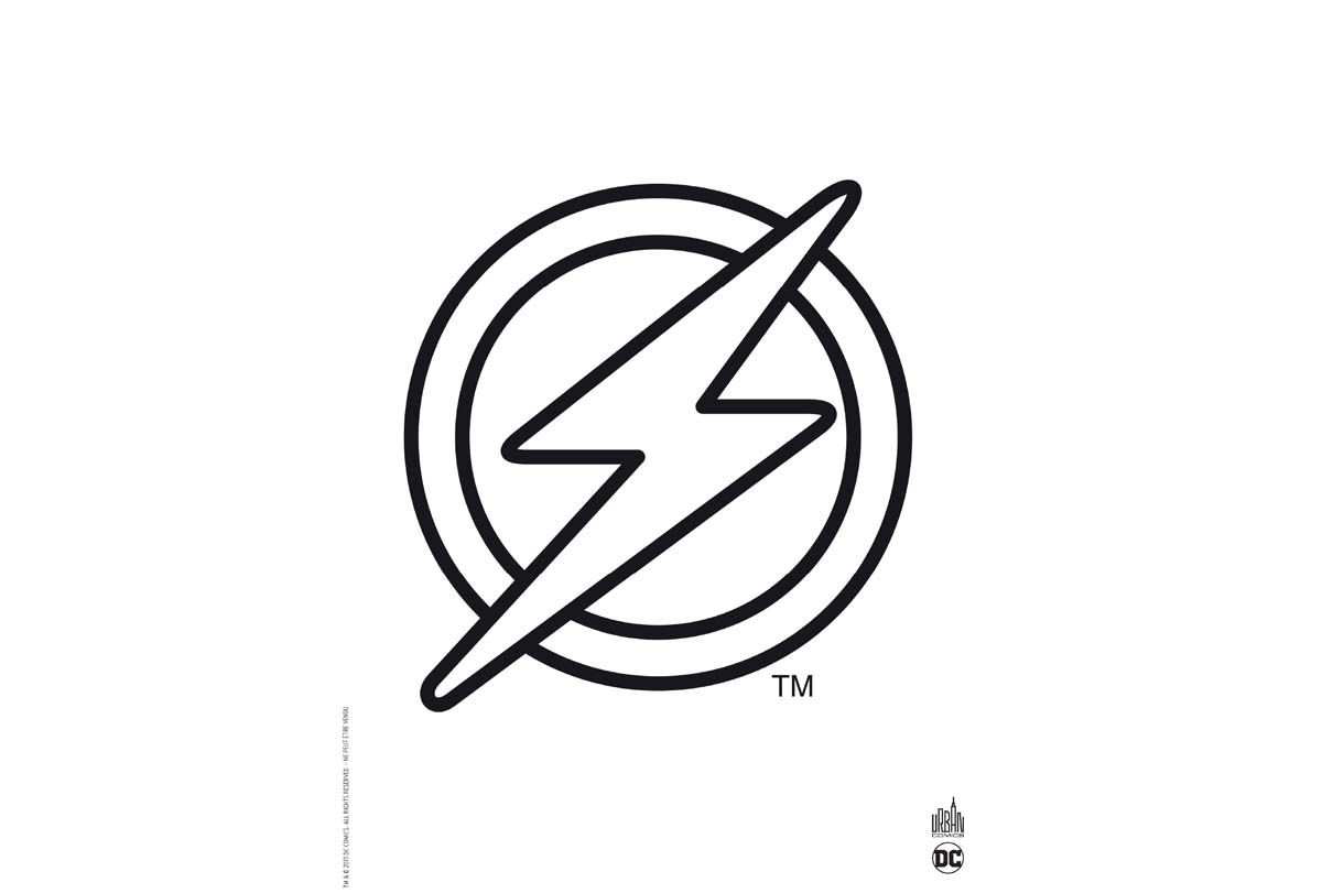 Coloriages Les Logos Des Super Heros Urban Comics