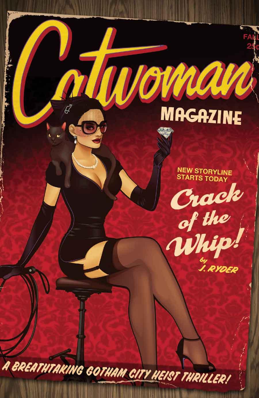 VISUEL DE COUVERTURE VARIANTE POUR CATWOMAN #32, PAR ANT LUCIA