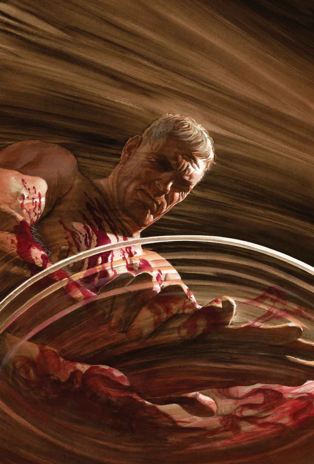 ILLUSTRATION DE COUVERTURE DE MEN OF WRATH #5, PAR ALEX ROSS