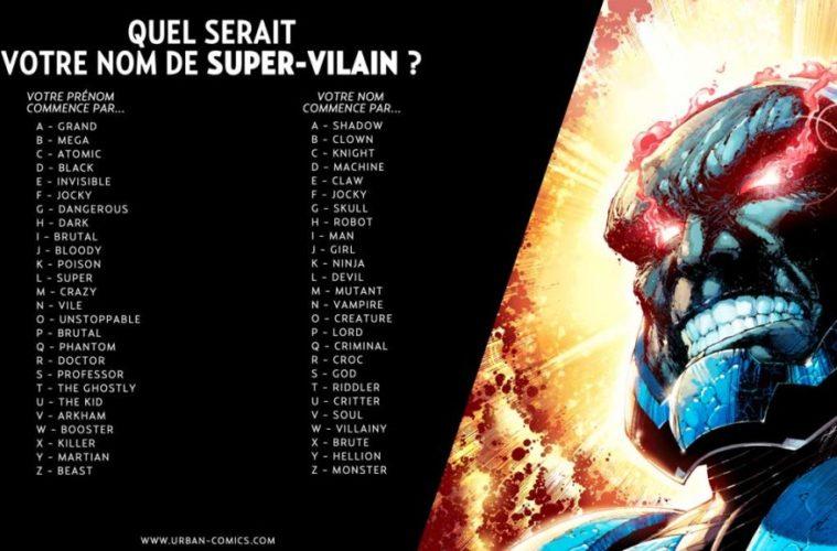 Le célèbre Quel est votre nom de super-vilain ? &BP_39