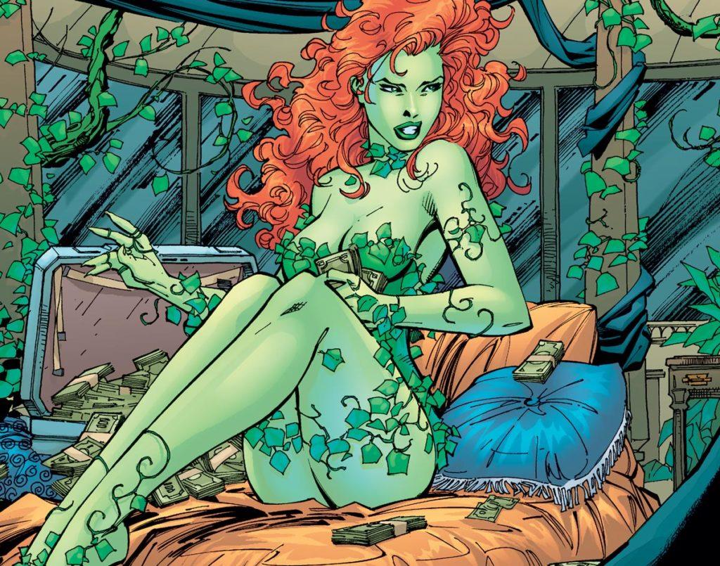 Poison ivy est aussi le nom...