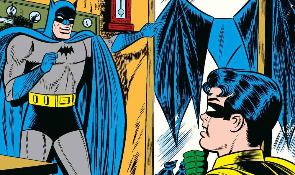La Batcave est trop petite pour abriter un avion à réaction…