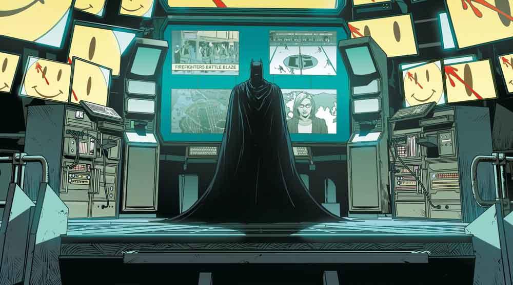 En cas de piratage des systèmes informatiques, une alerte est immédiatement envoyé à Batman  et…