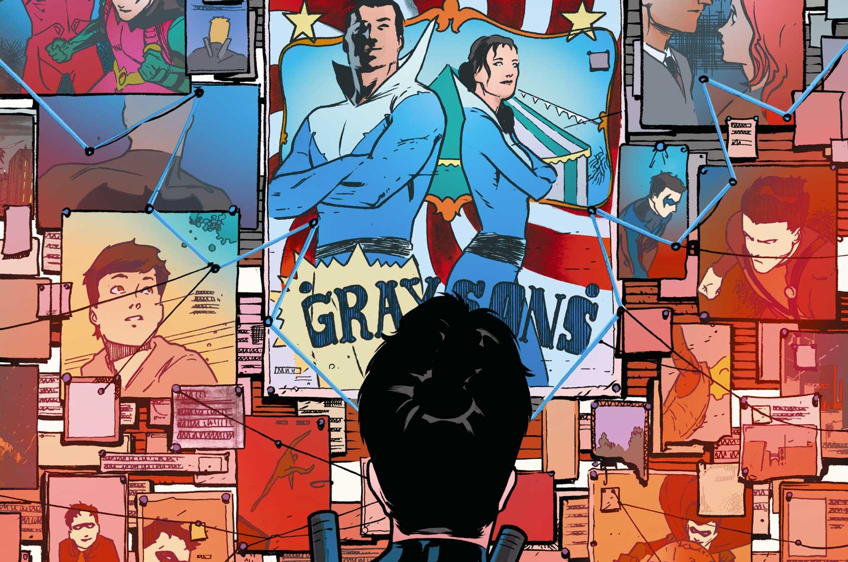 Nightwing (Dick Grayson) est le fils d'un couple de trapéziste. Quel était le prénom de son père ?