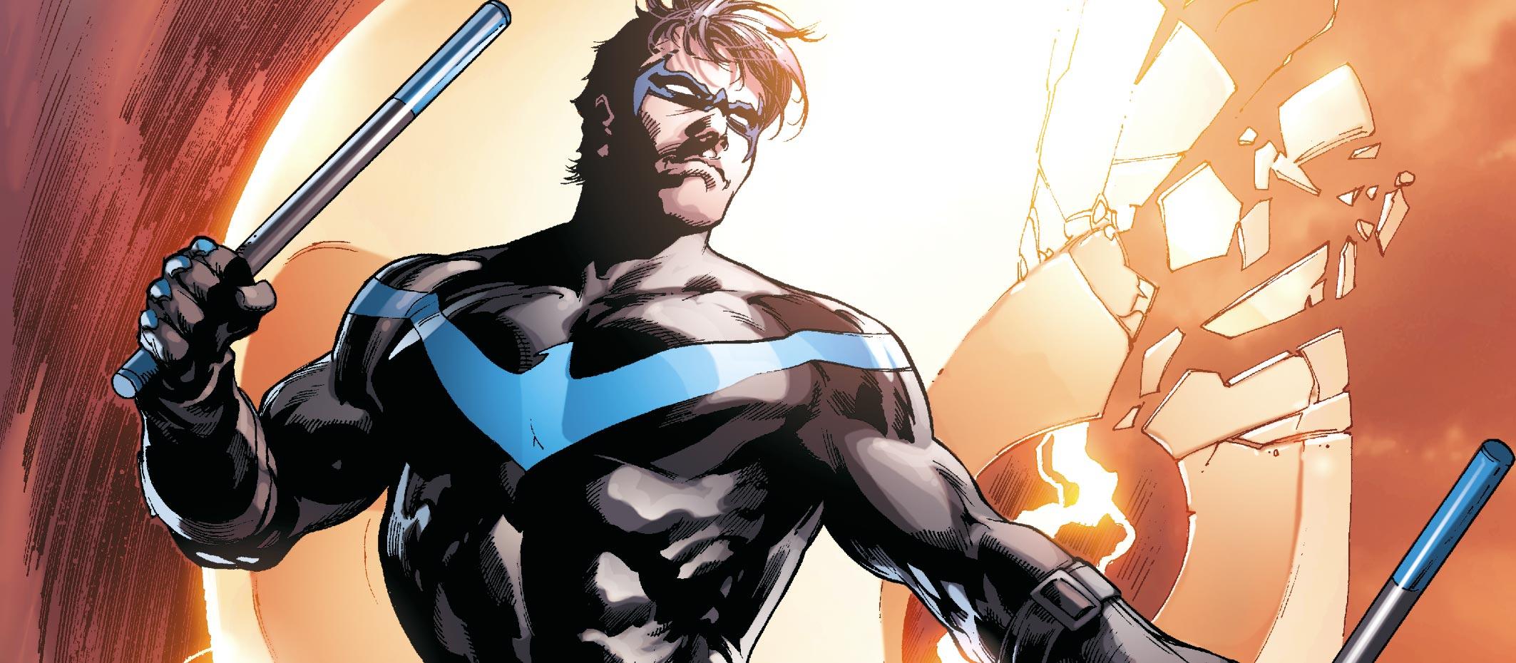 Torque, l'un des ennemis de Nightwing, est un dangereux criminel malgré un handicap :