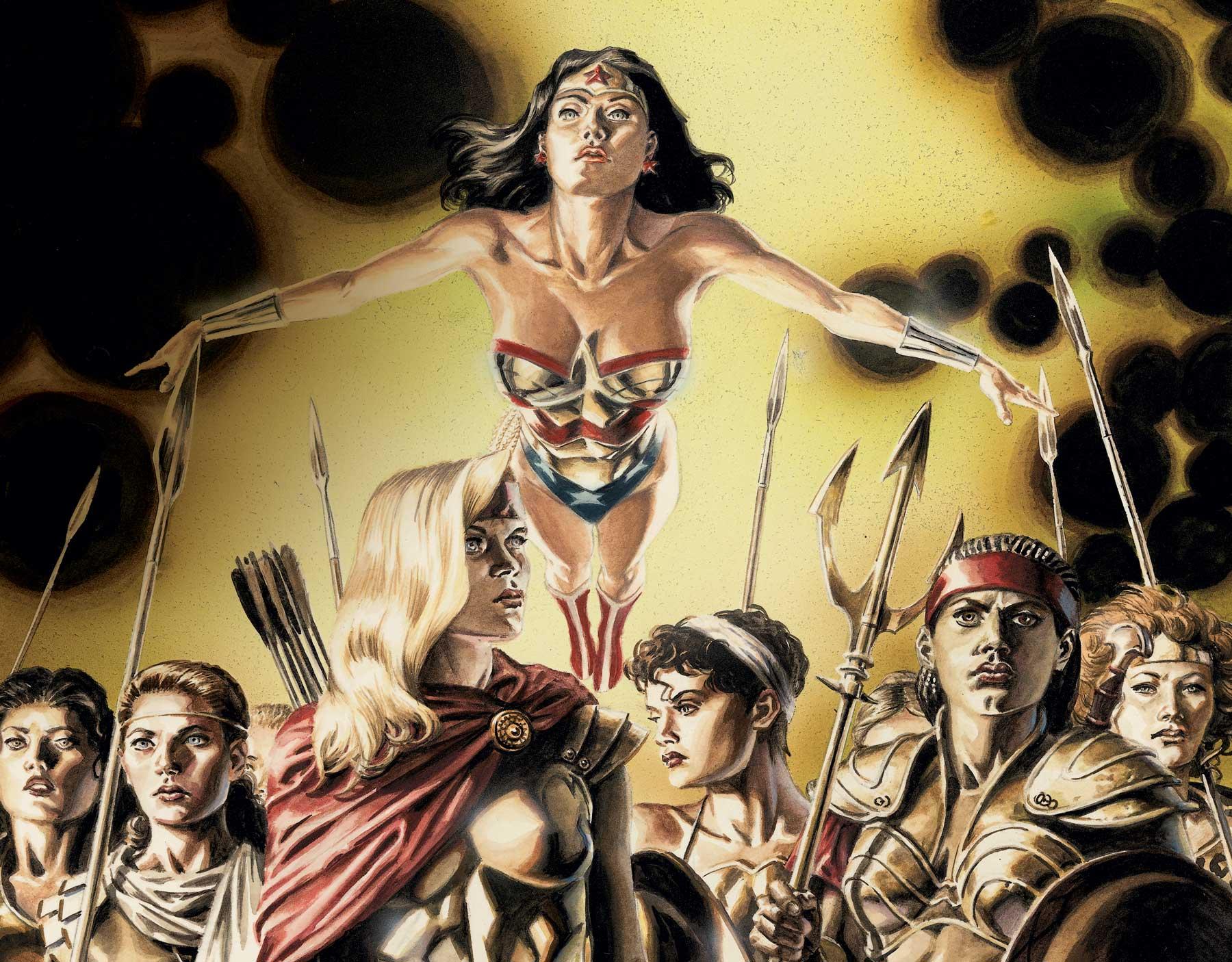 Qu'utilise Wonder Woman pour forcer les gens à dire la vérité ?