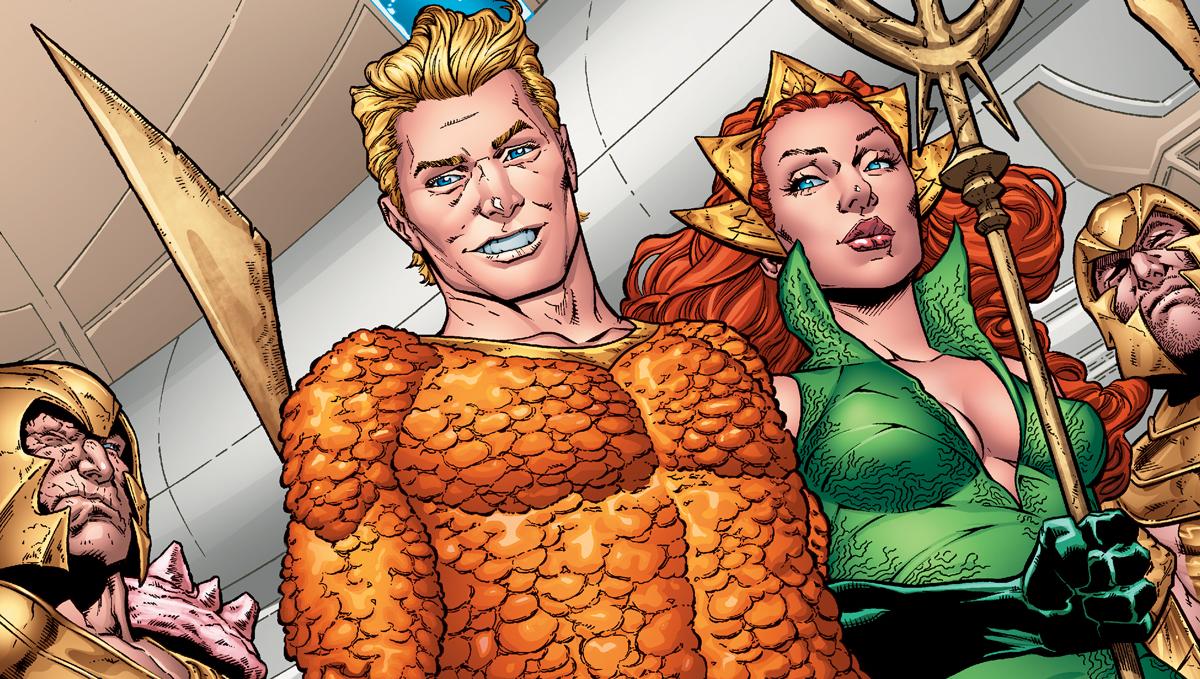 Quel super-héros a fait sa première apparition en même temps que celle d'Aquaman ?
