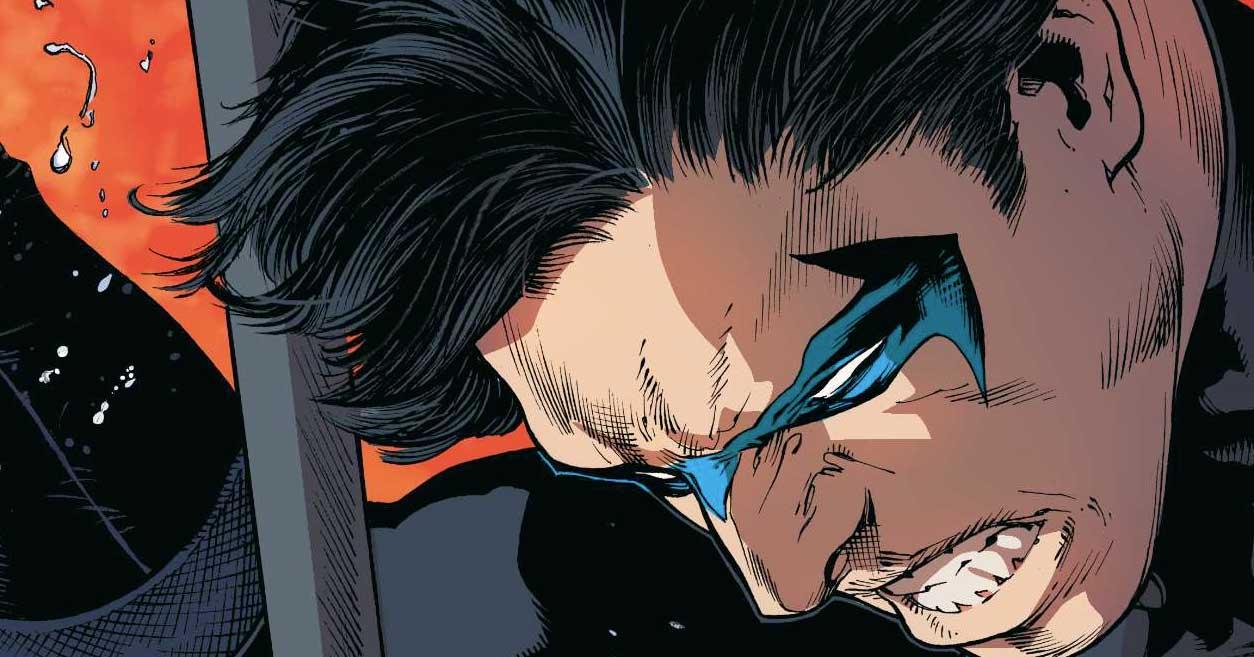 Nightwing a déjà battu à mort le Joker