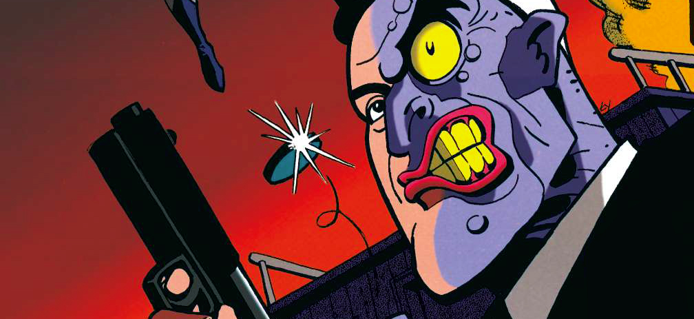 Quel récit à inspiré le personnage de Double-Face ? ( deux réponses possibles ! )