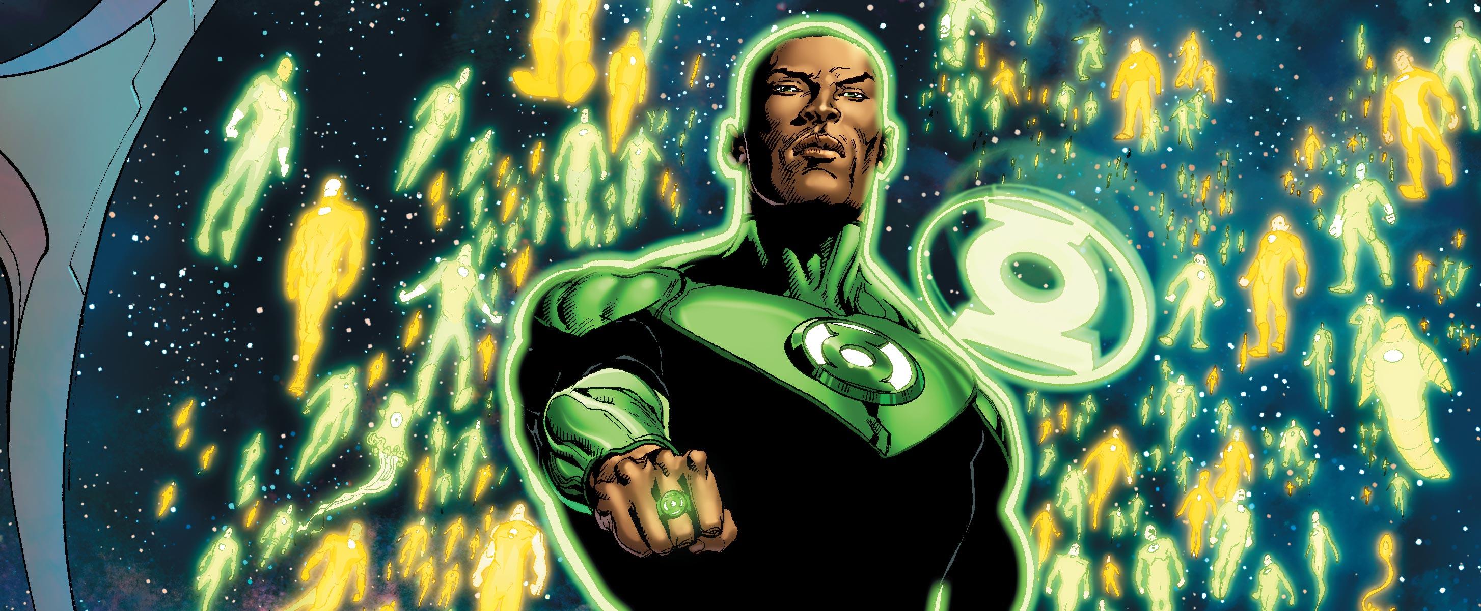 Dans Rebirth, les Green Lantern sont en charge du secteur:
