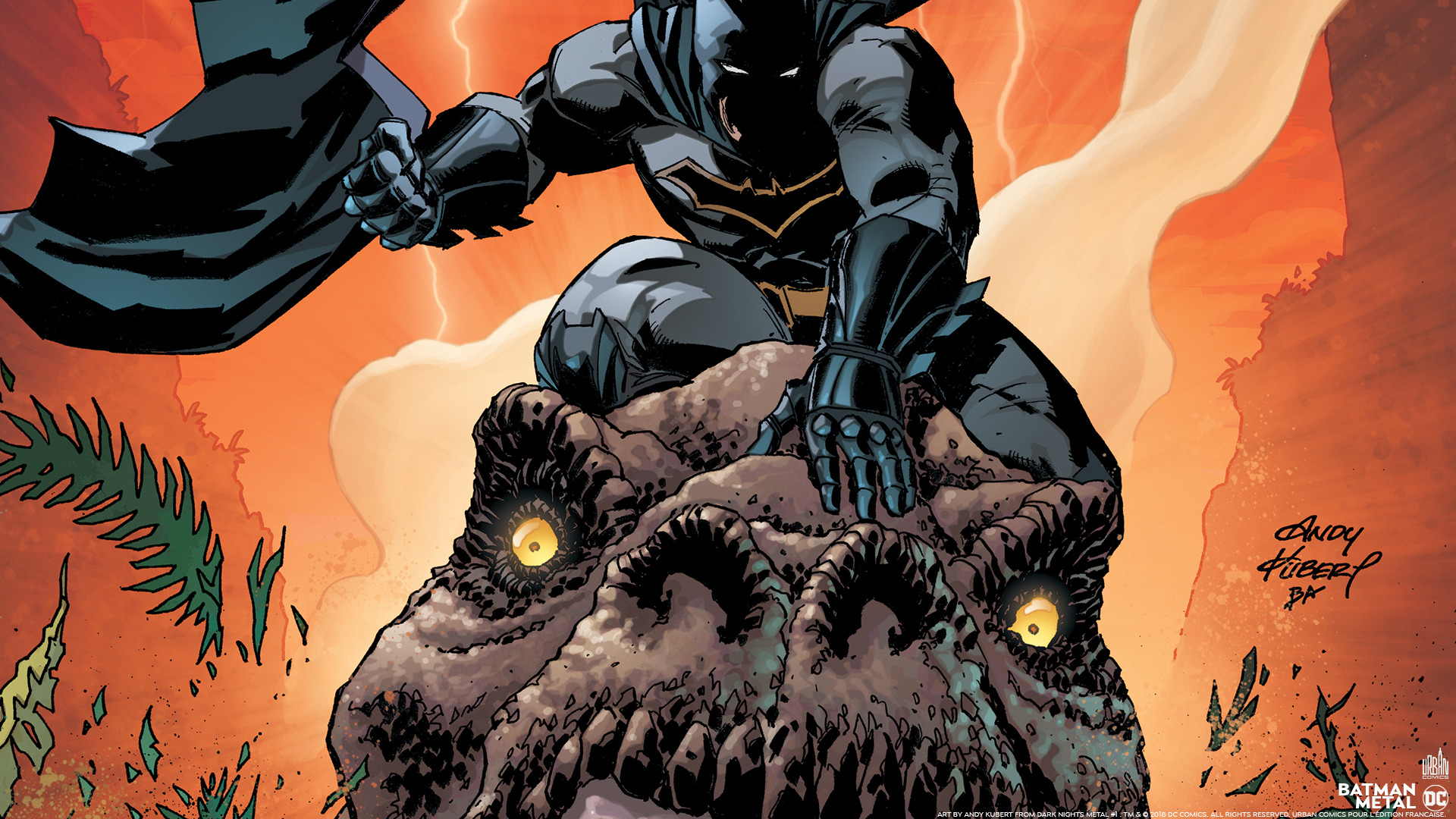 Batman Metal : les fonds d'écran à télécharger - Urban Comics