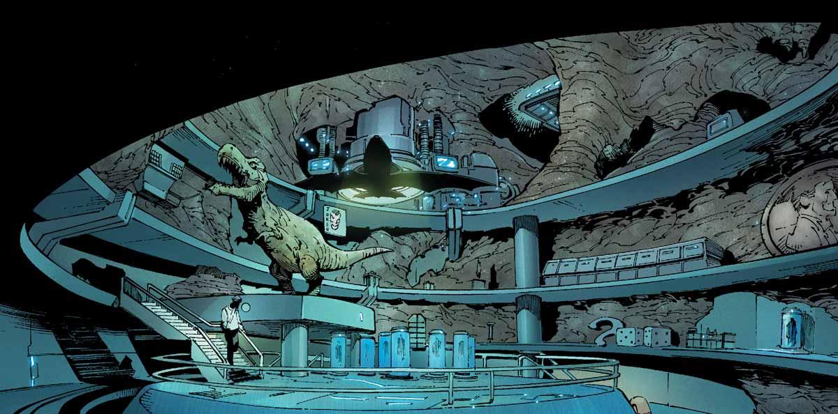 [Year of Evil] La chute des chauve-souris  Batcave3-1