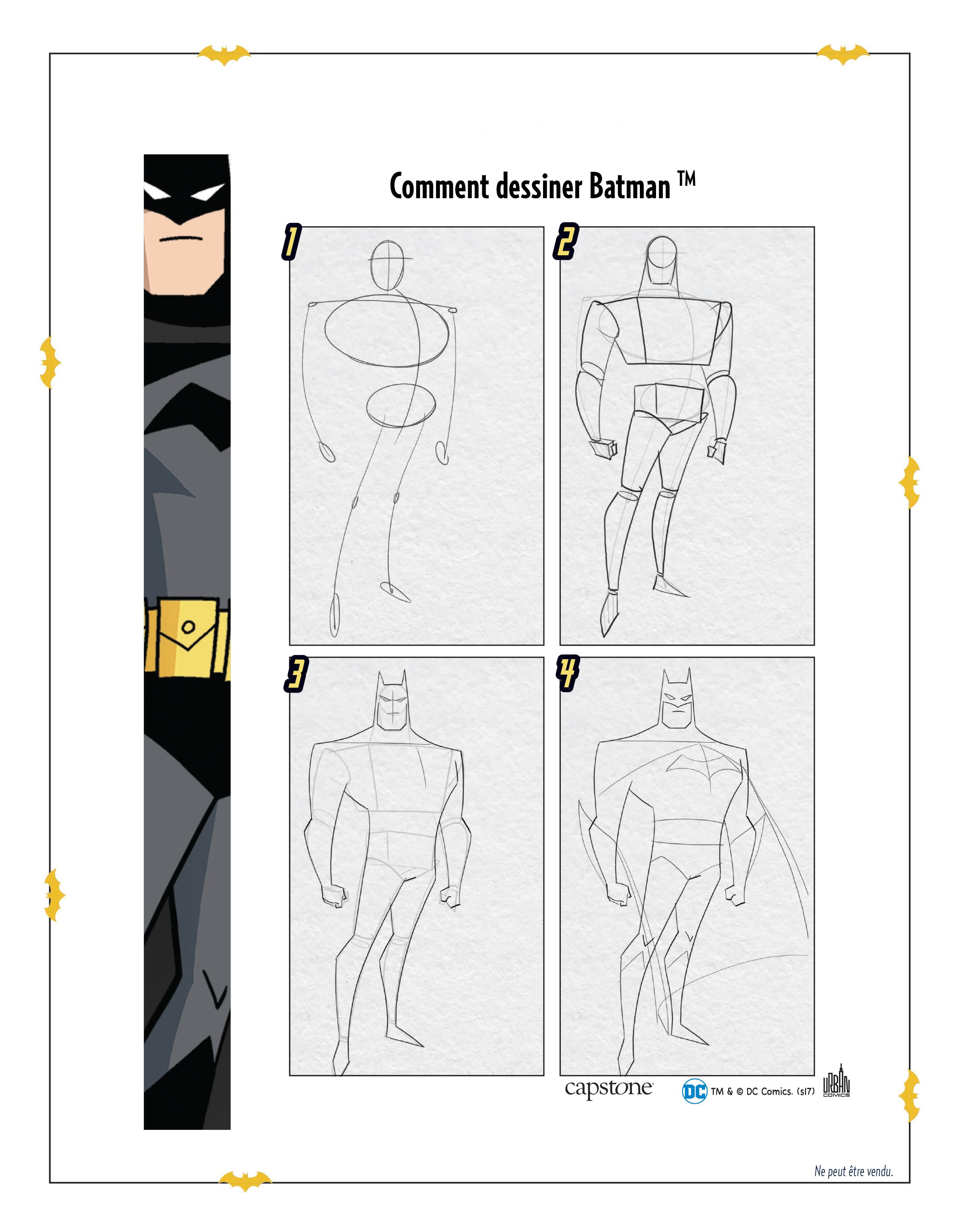 Comment Dessiner Batman Urban Comics