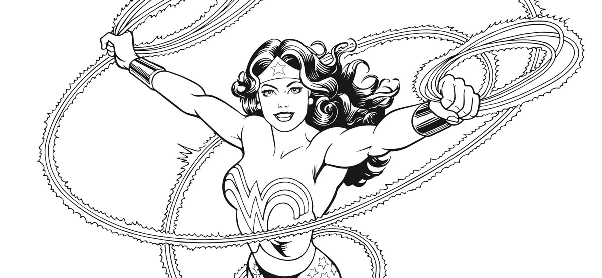 Coloriages Wonder Woman Urban Comics