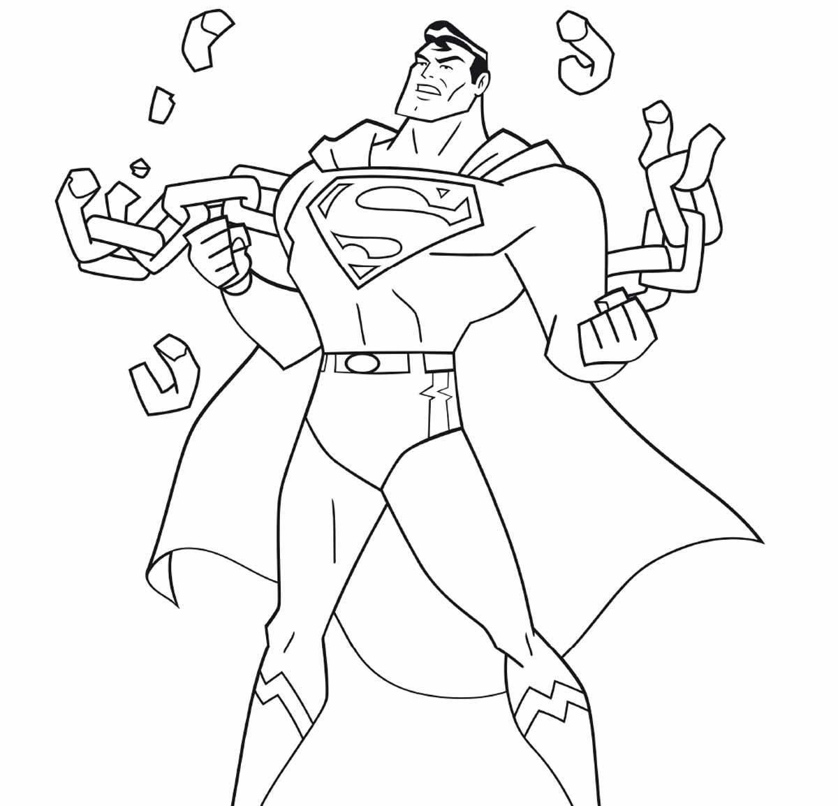 Les Coloriages Superman Urban Comics